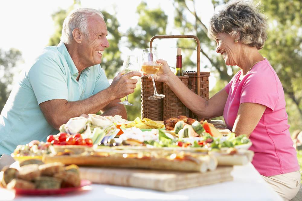 La importancia de la alimentación en los mayores